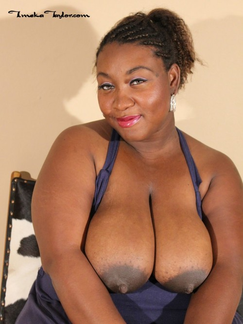 Timeka Taylor, the pregnant ebony milf with milk filled tits.